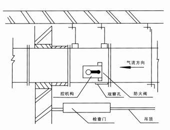 产品中心-防火,防排烟阀-安装